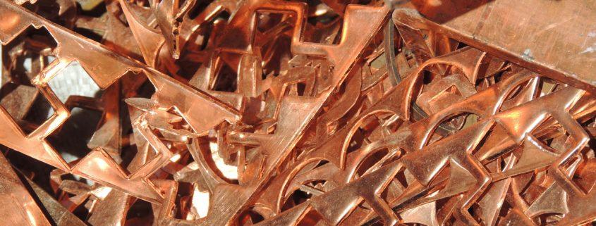 robo de cobre en España - Pletinas nuevas de cobre