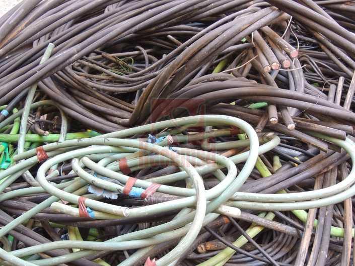 Aluminio cable unipolar pvc negro y verde