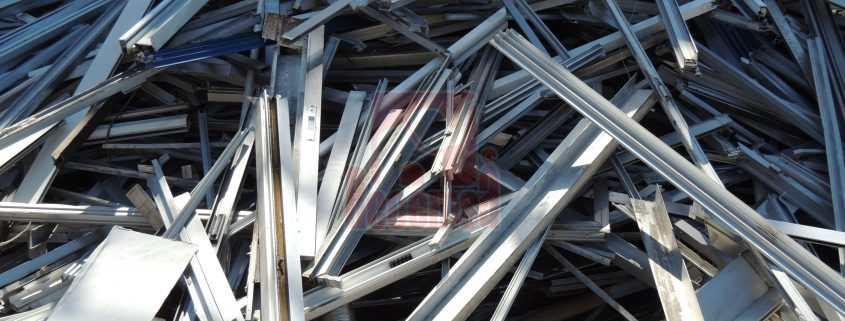 Aluminio perfil obra