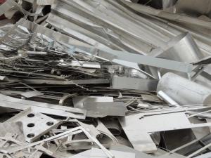 Chatarra de aluminio recorte de chapa anodizado