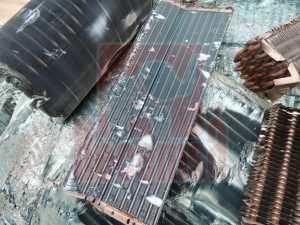 Chatarra radiador aluminio cobre