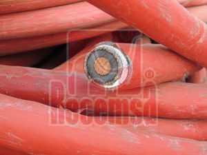 Cobre cable con pantalla de aluminio