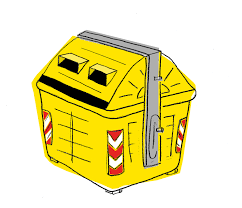 Contenedor amarillo reciclaje