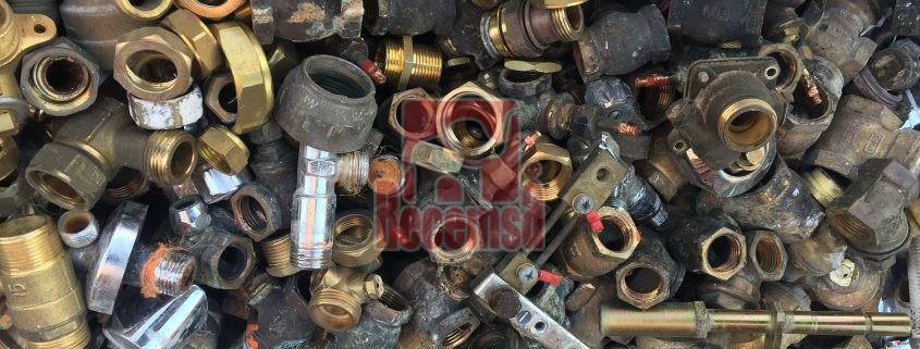 Piezas mecánicas usadas en el reciclaje en la industria