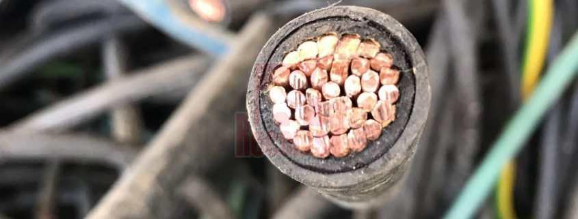 Manguera de cobre pelada