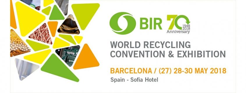 BIR, El Bureau of International Recycling (BIR) celebra su 70 aniversario en Barcelona, Recemsa, el chatarrero.
