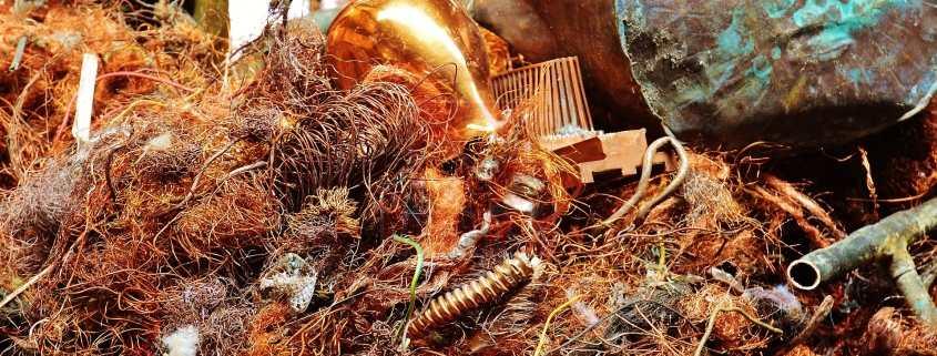 reciclaje de cobre, El reciclaje de cobre supone la disminución de 40m. de (ton) de CO2, Recemsa, el chatarrero.