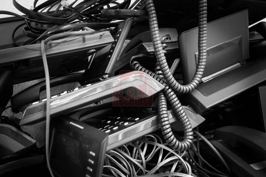 Basura electrónica generada por terminales